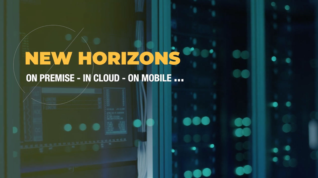 on premise - in cloud - on mobile